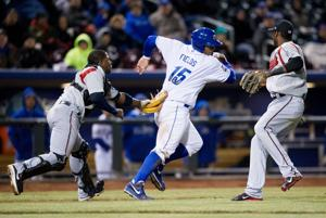 Storm Chasers fall to Nashville in season opener