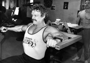 In the wrestling ring, Doug Lindzy was known as 'The Pro'