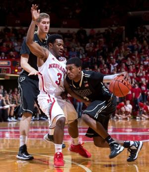 Nebraska's second-half rally comes up short against Boilermakers