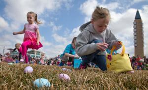 In Omaha, a case of Easter egg hunt fever