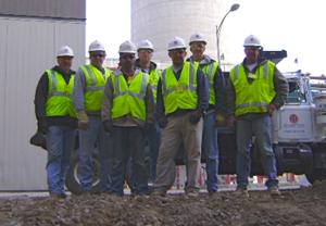 Hampton crew awarded for tricky drilling work on OPPD plant