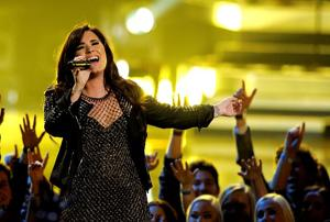 For Demi Lovato's comeback, no airbrushing required