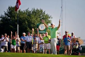 Seven-way tie after one round equals Champions Tour mark
