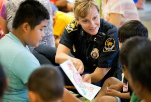 In the heart of her community, Omaha Police Capt. Shayna Ray connects with those she serves