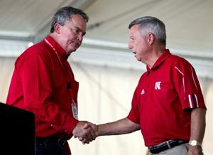 Backers of keeping vets home in Grand Island offer Heineman message at State Fair