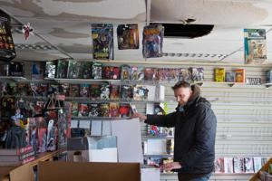 Comic book shop finds new home after fire