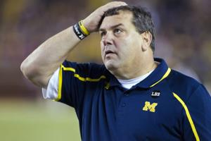 Michigan coach Hoke takes blame for defeat