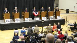 GOP hopefuls in Iowa's U.S. Senate race debate in Council Bluffs