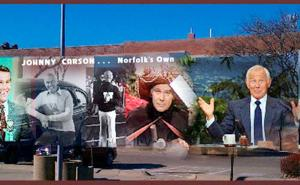 Johnny Carson mural to be created in downtown Norfolk