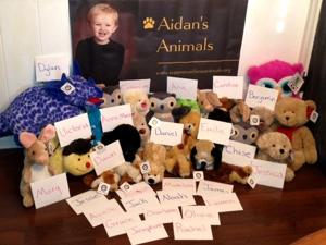Bellevue couple urges car safety with stuffed animals charity
