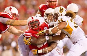 Husker I-back Imani Cross aims high, with mind and knees