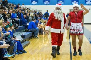 Photos: Creighton Prep's 'Christmas in the Cage'
