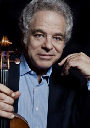 Violin virtuoso Itzhak Perlman shares spotlight with skilled pianist