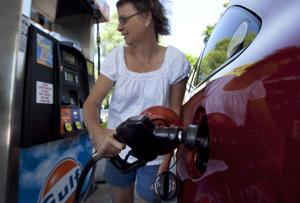 Gas prices taking a fall