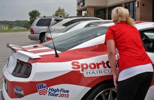 Mustang's tour benefits families of Wounded Warriors