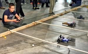 Teams learn love of science through robotics
