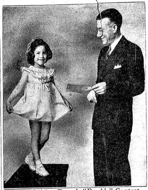 Archives: That time Omaha held a Shirley Temple look-alike contest