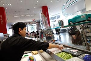 Drugstores go upscale – think sushi – to compete