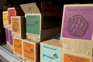 Diets beware: Starting today, you can buy Girl Scout cookies!