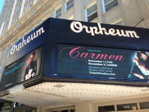 The Orpheum Theater got a new digital marquee in time for 'Book of Mormon'