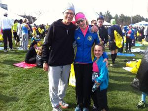 Father and daughter, former Nebraskans, ran marathon, then raced to help others