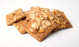 12 Days of Cookies, day 9: Sesame-Almond Squares