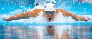 Coach: Phelps testing the waters for fun