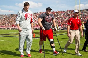 Husker lineman Spencer Long out for the season