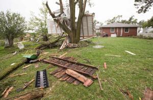 Apparent tornado hits eastern Nebraska; heavy snow forecast for Panhandle