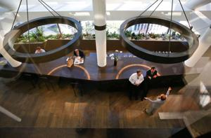 Concept of an 'untethered' office, where no one has an assigned space, takes root