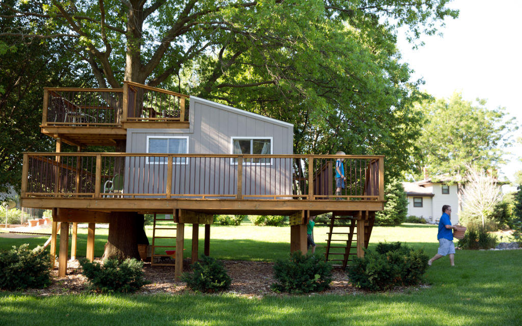 the metro area 39 s one of a kind treehouses living