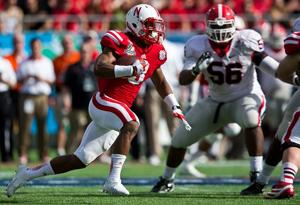 Notes: NU running back Abdullah sidelined by knee tweak