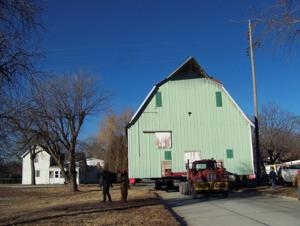 1919 horse barn gets a new home at Cuming County fairgrounds