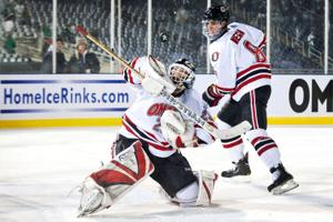 UNO's Megna is making up for lost time