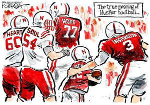 World-Herald editorial: Little Husker and big hearts