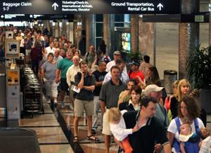 Business travelers miss this about recession: elbow room