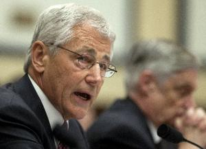 Budget hearing puts Hagel back in congressional hot seat