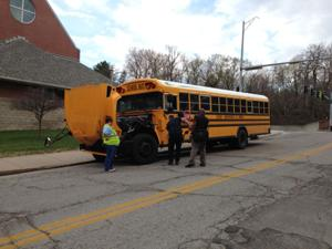 OPS bus, SUV collide; no students onboard at the time
