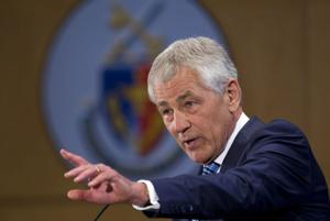 Defense Secretary Chuck Hagel warns of deep cuts