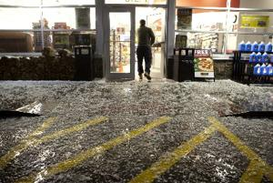 Hail pounds Omaha; 1 dead in Panhandle; Interstate closed at Kearney