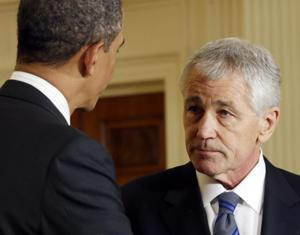 2 former Armed Services Committee chairs to introduce Hagel at confirmation hearing