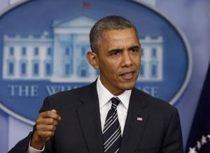 President Obama sets new tone with no-negotiation stance