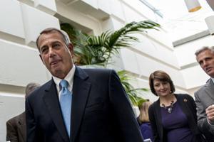 Boehner spokesman: House to vote tonight on legislation to reopen government
