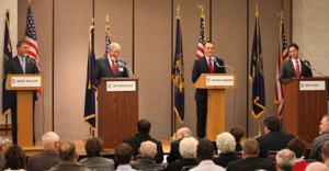 In Gering debate, 4 GOP Senate candidates talk of ways to lower national debt