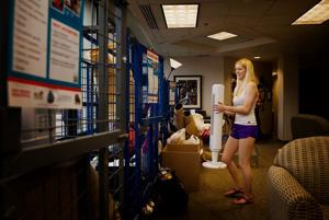 Creighton part of new effort encouraging dorm residents to recycle as they move out