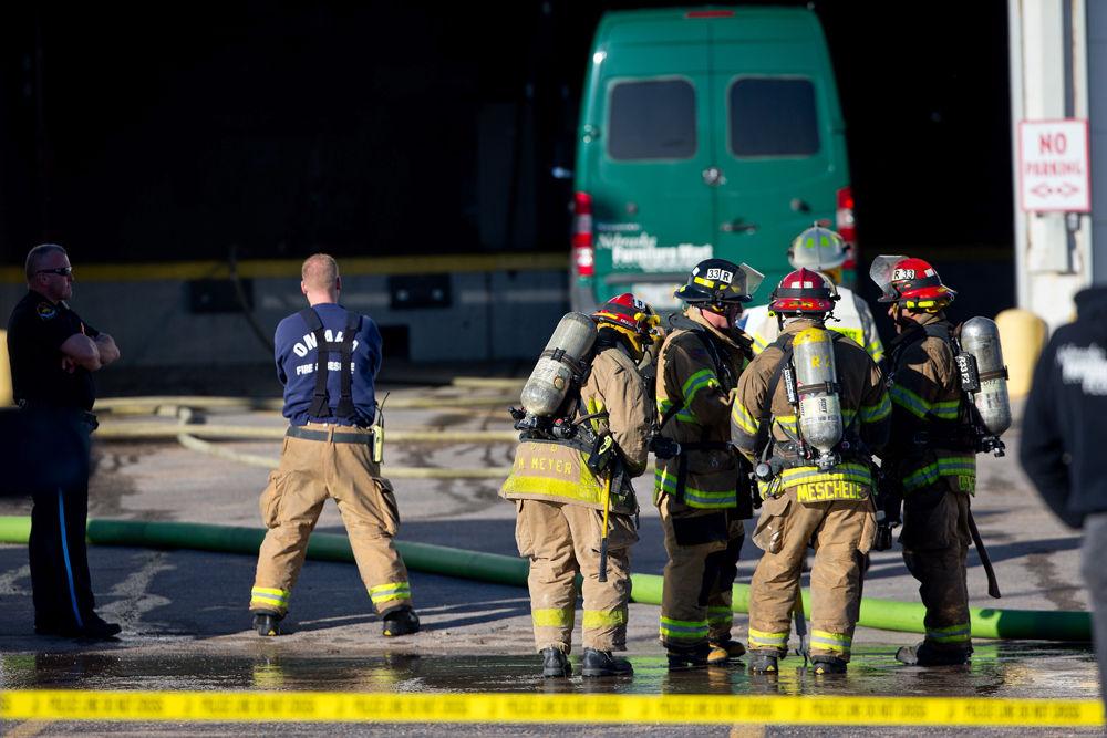 Several Wood Pallets Catch Fire At Nebraska Furniture Mart Warehouse No Injuries Omaha Metro