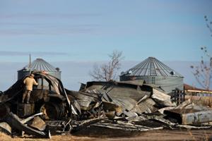 Six departments battle fire at farm in Douglas County