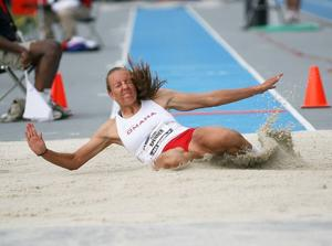 UNO's Spenner places 10th in heptathlon