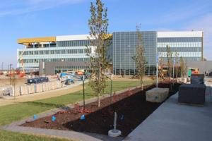 Construction nears completion on SAC's sustainable HQ