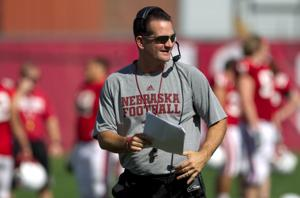 Now resting easier, Husker OC Tim Beck back on job